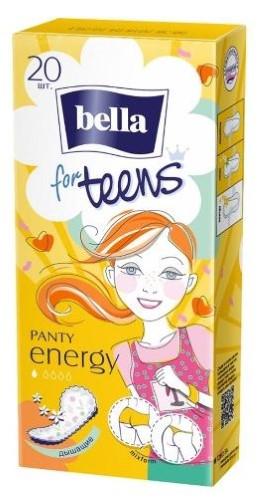 Купить BELLA ПРОКЛАДКИ PANTY FOR TEENS ENERGY DEO ЕЖЕДНЕВНЫЕ N20 цена