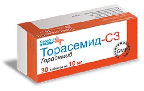 Купить Торасемид-сз цена
