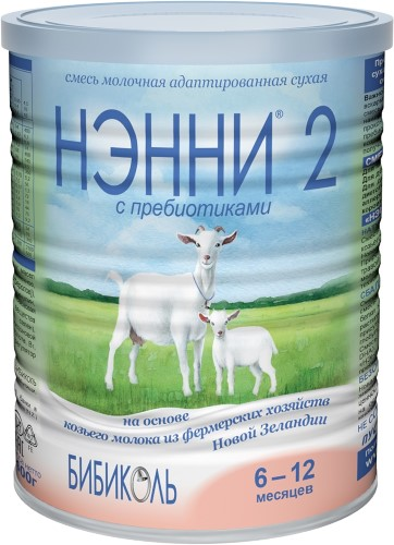 Купить 2 с пребиотиками адаптированная сухая молочная смесь на основе козьего молока цена