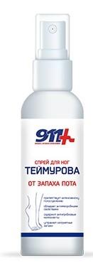 Купить 911 ТЕЙМУРОВА СПРЕЙ ДЛЯ НОГ 150МЛ цена