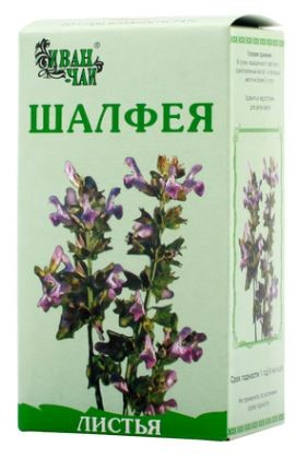 Купить ШАЛФЕЯ ЛИСТ 50,0/ИВАН-ЧАЙ/ цена