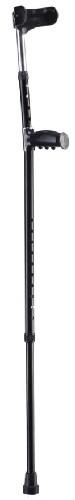 Купить Костыль-канадка wr-321 с двойной регулировкой высоты/черный цена