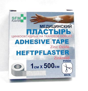 Купить Лейкопластырь sfm-plaster медицинский фиксирующи цена
