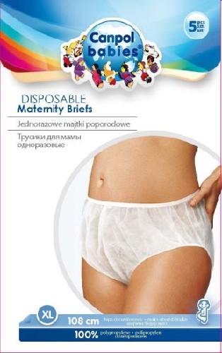 Купить CANPOL BABIES ТРУСИКИ ДЛЯ МАМЫ ОДНОРАЗОВЫЕ РАЗМЕР XL N5 цена