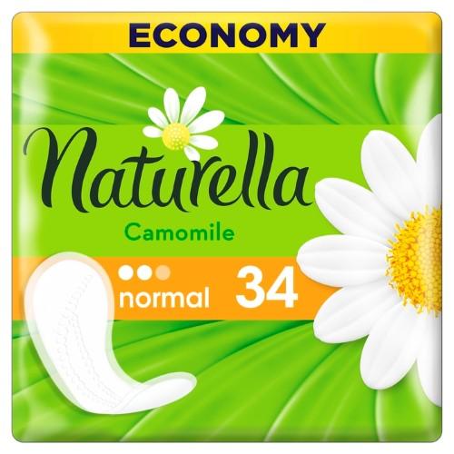 Купить NATURELLA CAMOMILE NORMAL ЕЖЕДНЕВНЫЕ ПРОКЛАДКИ N34 цена
