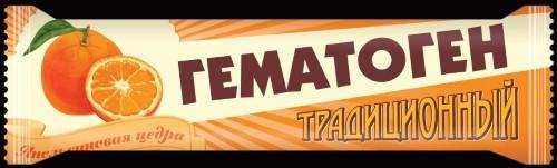 Купить Гематоген традиционный+ с цедрой апельсина цена