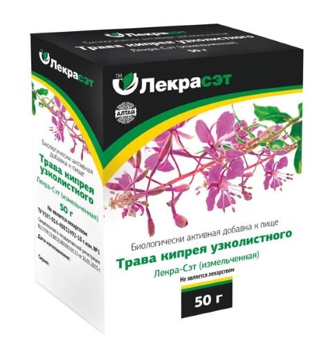 Купить Кипрея узколистного трава лекра-сэт цена