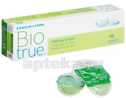Купить Biotrue oneday однодневные контактные линзы цена