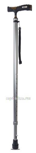 Купить Трость amcс33 опорная металлическая с устройством против скольжения (упс) цена
