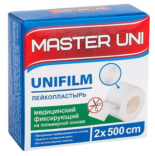 Купить Unifilm лейкопластырь медицинский фиксирующий цена