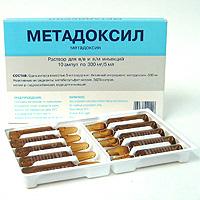 Купить МЕТАДОКСИЛ 0,3/5МЛ 5МЛ N10 АМП Р-Р Д/ИН цена