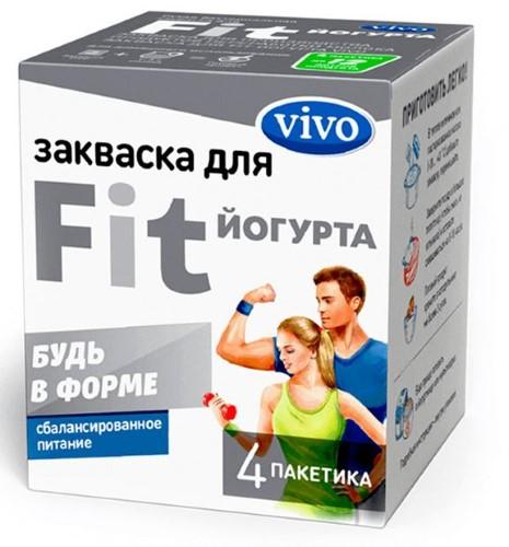 Купить VIVO ЗАКВАСКА FIT-ЙОГУРТ 0,5 N4 цена