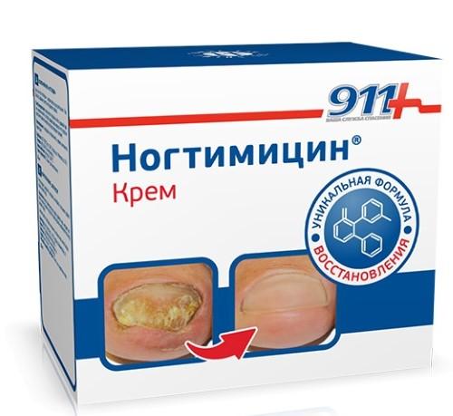 911 НОГТИМИЦИН КРЕМ 30МЛ - цена 125 руб., купить в интернет аптеке в Екатеринбурге 911 НОГТИМИЦИН КРЕМ 30МЛ, инструкция по применению