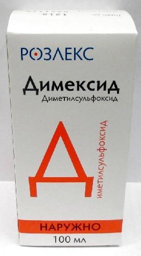 Купить ДИМЕКСИД 100МЛ ФЛАК КОНЦ Д/Р-РА /РОЗЛЕКС ФАРМ/ цена