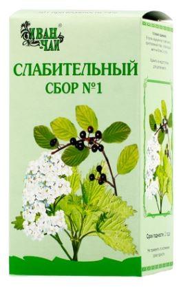 Купить СЛАБИТЕЛЬНЫЙ СБОР N1 50,0 /ИВАН-ЧАЙ/ цена