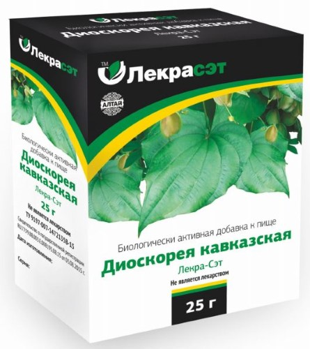 Купить ДИОСКОРЕЯ КАВКАЗСКАЯ-ЛЕКРА-СЭТ 25,0 цена