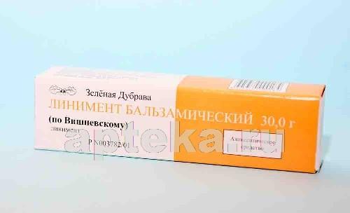 Купить ВИШНЕВСКОГО 30,0 ЛИНИМЕНТ/ЗЕЛЕНАЯ ДУБРАВА/ цена