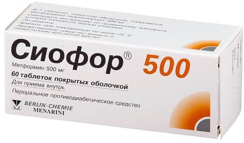 Купить Сиофор 500 цена