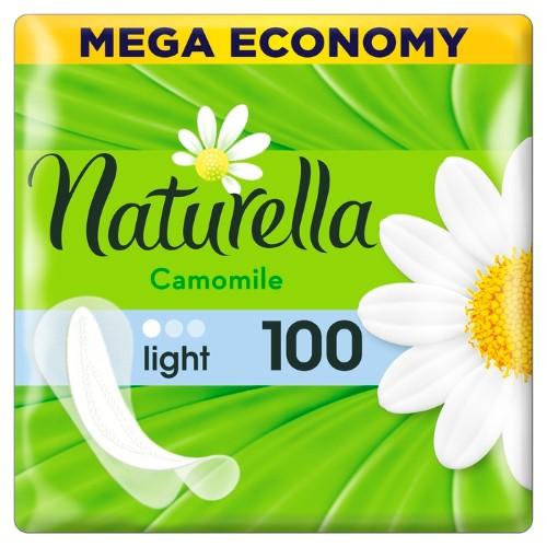 Купить NATURELLA CAMOMILE LIGHT ЕЖЕДНЕВНЫЕ ПРОКЛАДКИ N100 цена