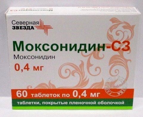 Купить МОКСОНИДИН-СЗ 0,0004 N60 ТАБЛ П/ПЛЕН/ОБОЛОЧ цена