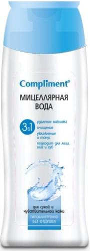 Купить COMPLIMENT МИЦЕЛЛЯРНАЯ ВОДА 3В1 200МЛ цена