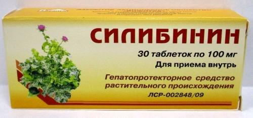 СИЛИБИНИН 0,1 N30 ТАБЛ - цена 102 руб., купить в интернет аптеке в Москве СИЛИБИНИН 0,1 N30 ТАБЛ, инструкция по применению