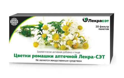 Купить Цветки ромашки аптечной лекра-сэт цена