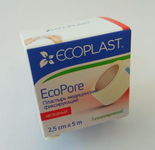 Купить Ecopore пластырь медицинский фиксирующий цена