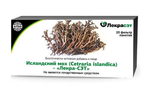 Купить Исландский мох - лекра-сэт цена
