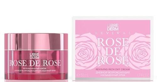 Купить Rose de rose крем возрождающий дневной насыщенный 50мл цена