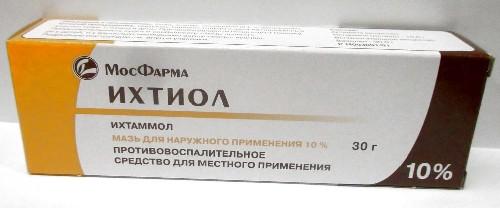 Купить ИХТИОЛ 10% 30,0 МАЗЬ Д/НАР ПРИМ/ТУБА/МФФ цена