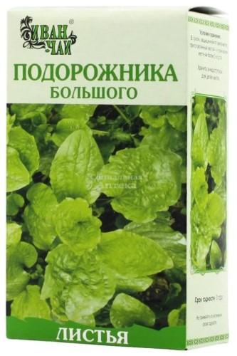 Купить ПОДОРОЖНИКА БОЛЬШОГО ЛИСТ 50,0/ИВАН-ЧАЙ цена