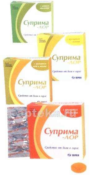 Купить СУПРИМА-ЛОР АНАНАС N16 ТАБЛ Д/РАССАС цена