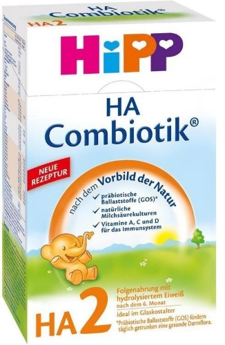 Купить HIPP HA 2 COMBIOTIC СМЕСЬ ИНСТАНТНАЯ СУХАЯ 500,0 цена