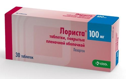 Купить ЛОРИСТА 0,1 N30 ТАБЛ П/ПЛЕН/ОБОЛОЧ цена