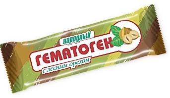 Купить Гематоген народный с лесным орехом цена