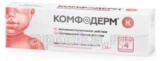 Купить КОМФОДЕРМ К 0,1% 15,0 КРЕМ Д/НАРУЖ ПРИМ цена