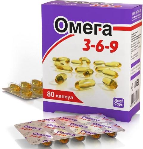 Купить ОМЕГА 3-6-9 N80 КАПС ПО 1600МГ цена