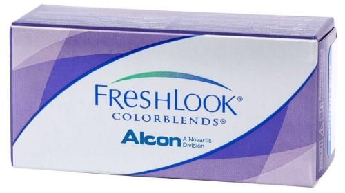 Купить Freshlook colorblends цветные контактные линзы плановой замены цена