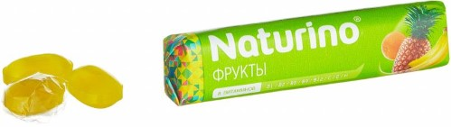 Купить Пастилки naturino с вит и сок цена