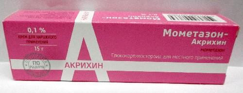 Купить Мометазон - акрихин 0,1% 15,0 крем цена