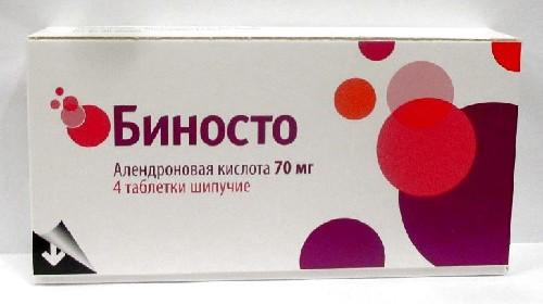БИНОСТО 0,07 N4 ШИП ТАБЛ - цена 808 руб., купить в интернет аптеке в Ивантеевке БИНОСТО 0,07 N4 ШИП ТАБЛ, инструкция по применению