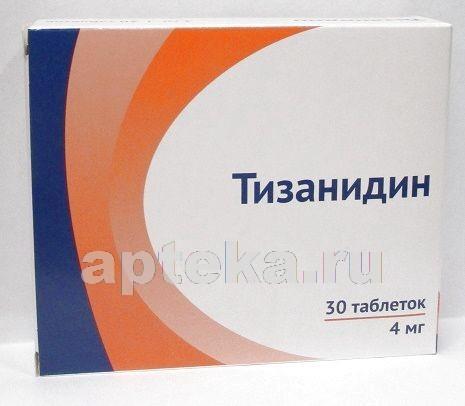 Купить ТИЗАНИДИН 0,004 N30 ТАБЛ/ОЗОН/ цена