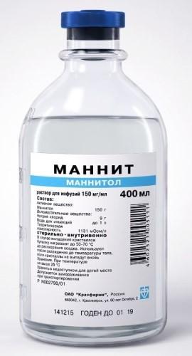 Купить МАННИТ 0,15/МЛ 400МЛ N12 ФЛАК Р-Р Д/ИНФ цена