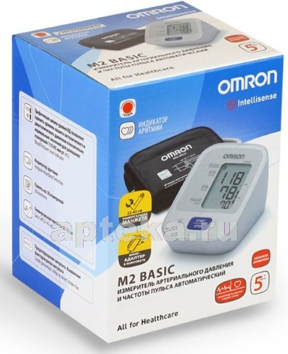 Купить ТОНОМЕТР OMRON M2 BASIC АВТОМАТ /HEM-7121-ALRU цена
