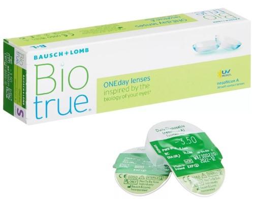 Biotrue oneday однодневные контактные линзы