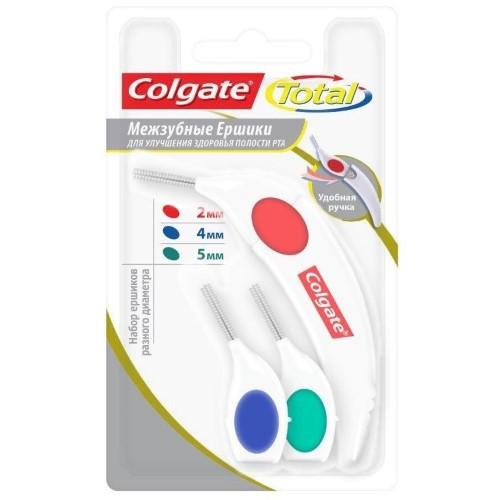 Купить COLGATE TOTAL МЕЖЗУБНЫЕ ЕРШИКИ /НАБОР/ цена
