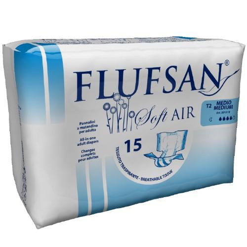 Купить FLUFSAN SOFT AIR ПОДГУЗНИК ВПИТЫВАЮЩИЙ ДЛЯ ВЗРОСЛЫХ NIGHT N15/M цена