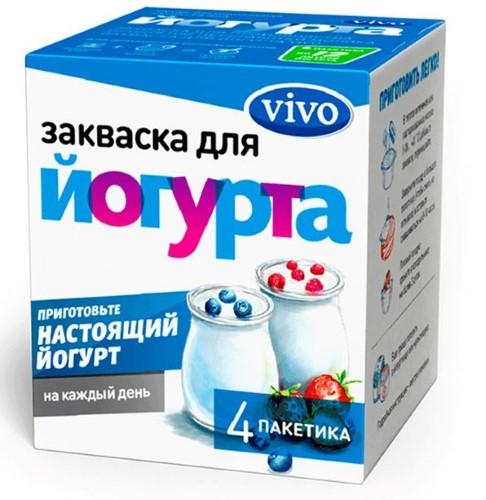 Купить VIVO ЗАКВАСКА ЙОГУРТ 0,5 N4 цена