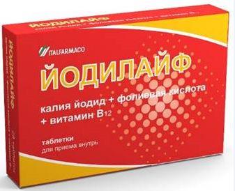 ЙОДИЛАЙФ N28 ТАБЛ - цена 357 руб., купить в интернет аптеке в Иркутске ЙОДИЛАЙФ N28 ТАБЛ, инструкция по применению